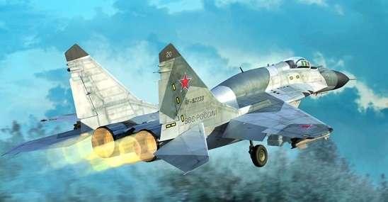 Myśliwiec Mig29 SMT w skali 1:72 do sklejania-image_Trumpeter_01676_1