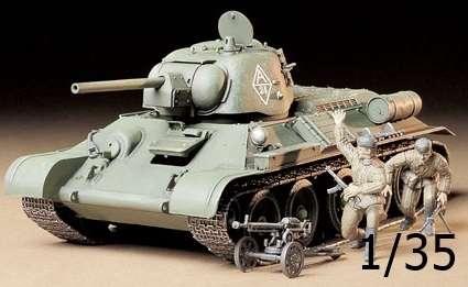Radziecki czołg T34/76