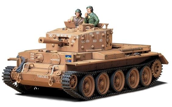 Brytyjski czołg Cantaur -image_Tamiya_35232_3