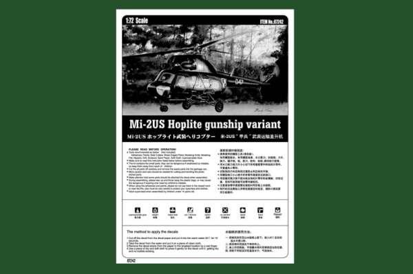 Plastikowy model helikoptera Mi-2US Hoplite z polskimi oznaczeniami - sklep modeledo - image_4-image_Hobby Boss_87242_3