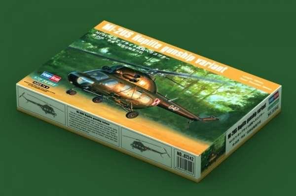 Plastikowy model helikoptera Mi-2US Hoplite z polskimi oznaczeniami - sklep modeledo - image_2-image_Hobby Boss_87242_2