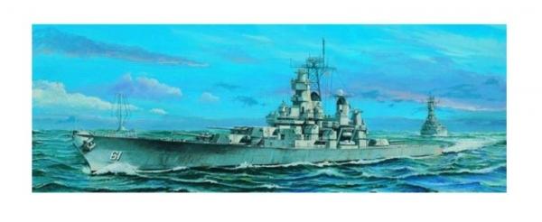Trumpeter 05701 USS Iowa BB-61 1984