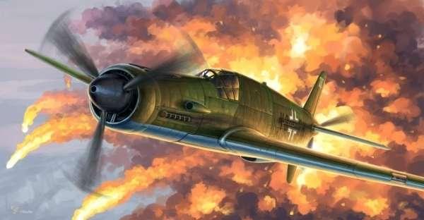 Niemiecki wielozadaniowy samolot Dornier Do 335A Pfeil, plastikowy model do sklejania HK Models 01E08 w skali 1:32-image_HK Models_01E08_1