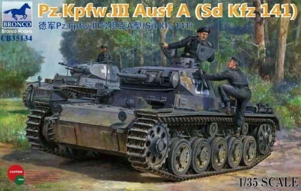 Model czołgu PZIII do sklejania i malowania w skali 1:35, model Bronco CB35134.-image_Bronco Models_CB35134_1