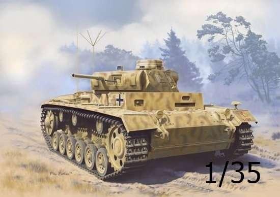 Pojazd obserwacyjny artylerii Panzerbeobachtungswagen III Ausf.F (Sd.Kfz.143), plastikowy model do sklejania Dragon 6792 w skali 1/35.-image_Dragon_6792_1