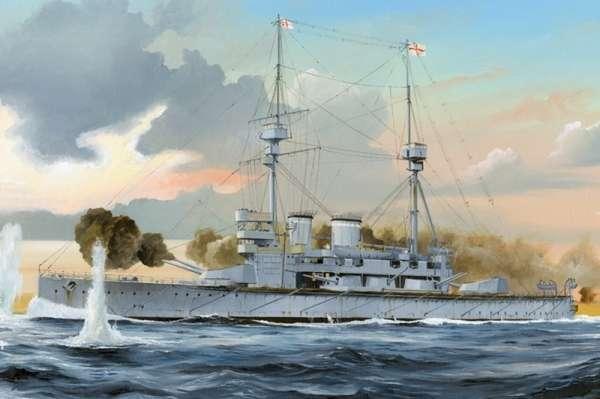 Pancernik HMS Lord Nelson , plastikowy model do sklejania Hobby Boss 86508 w skali 1:350-image_Hobby Boss_86508_1