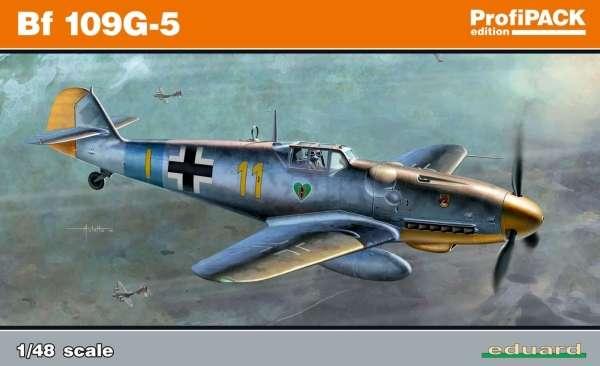 Niemiecki myśliwiec Messerschmitt Bf 109G-5, plastikowy model do sklejania Eduard 82112 w skali 1:48-image_Eduard_82112_1