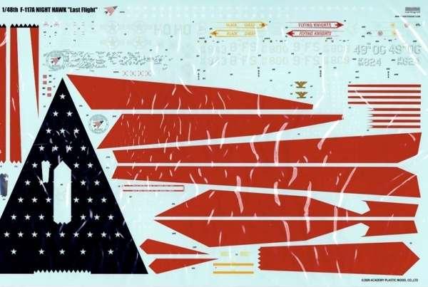 Amerykański bombowiec model_academy_12219_f117a_lockhead_image_1-image_Academy_12219_3
