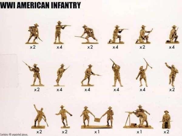 figurki_airfix_a01729_american_infantry_wwi_sklep_modelarski_modeledo_image_2-image_Airfix_A01729_3