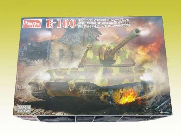 Amusing Hobby 35A015 w skali 1:35 - image c- E-100 German Super Heavy Tank-image_Amusing Hobby_35A015_2