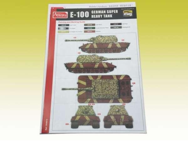 Amusing Hobby 35A015 w skali 1:35 - image d- E-100 German Super Heavy Tank-image_Amusing Hobby_35A015_3