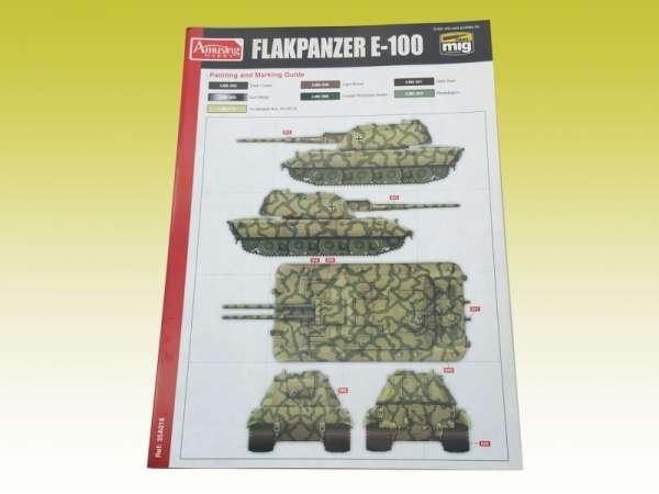 Amusing Hobby 35A016 w skali 1:35 - image b - model Flakpanzer E-100 88 mm Flakzwillig-image_Amusing Hobby_35A016_3