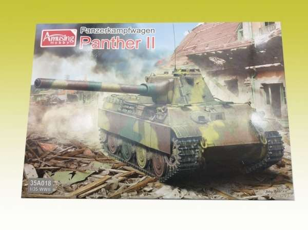 Amusing Hobby 35A018 w skali 1:35 - model Pzkpfw. Panther II - image a-image_Amusing Hobby_35A018_3