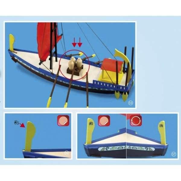 zestaw-modelarski-dla-dzieci-egipska-lodz-cleopatra-do-sklejania-sklep-modeledo-image_Artesania Latina drewniane modele statków_30507_7