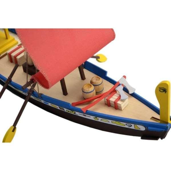 zestaw-modelarski-dla-dzieci-egipska-lodz-cleopatra-do-sklejania-sklep-modeledo-image_Artesania Latina drewniane modele statków_30507_8
