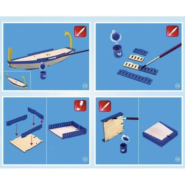 zestaw-modelarski-dla-dzieci-egipska-lodz-cleopatra-do-sklejania-sklep-modeledo-image_Artesania Latina drewniane modele statków_30507_4