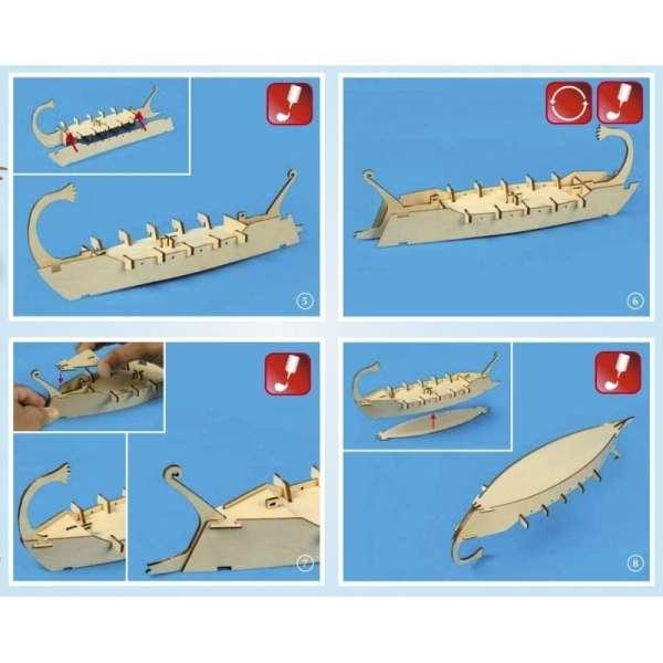 zestaw-modelarski-dla-dzieci-rzymska-galera-cesar-do-sklejania-sklep-modeledo-image_Artesania Latina drewniane modele statków_30508_3