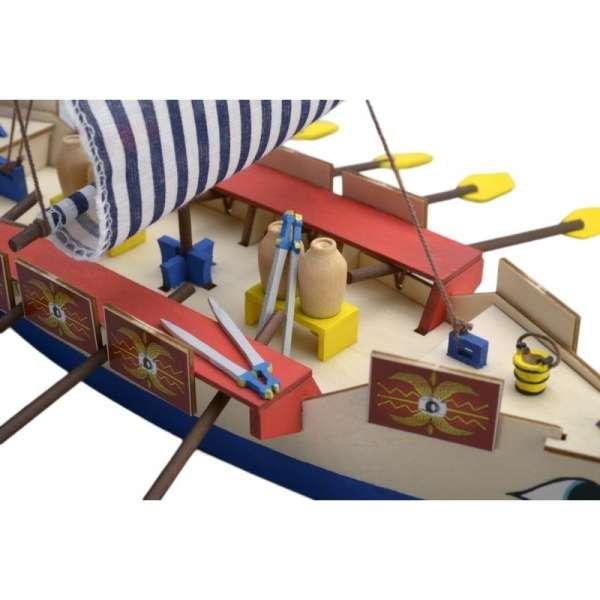 zestaw-modelarski-dla-dzieci-rzymska-galera-cesar-do-sklejania-sklep-modeledo-image_Artesania Latina drewniane modele statków_30508_2