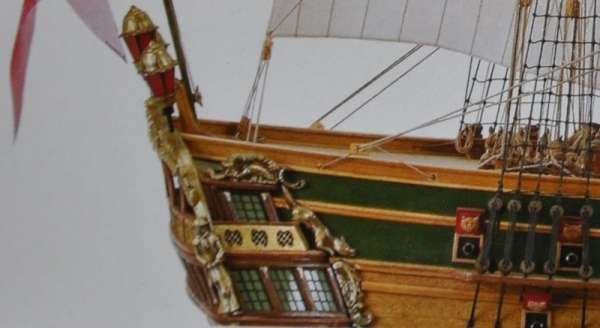 Drewniany model okrętu Norske Love Billing Boats BB437 - image_3_bb437-image_Billing Boats_BB437_2