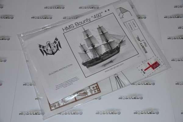 Billing_Boats_HMS_Bounty_BB492 - drewniany model żaglowca do sklejania, modeledo.pl_sklep_modelarski_image_5-image_Billing Boats_BB492_3