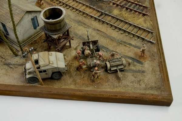 Battle Set El ALamein The Railway Station Italeri 6181 zestaw modelarski do sklejania image_1_ita6181_i-image_Italeri_6181_3