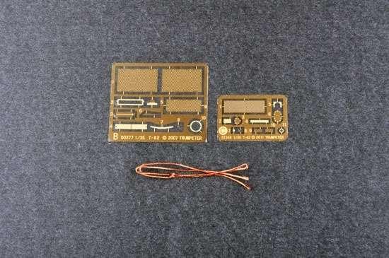 Model czołgu T-62 w skali 1:35 do sklejania, Trumpeter 01553_image_12-image_Trumpeter_01553_3