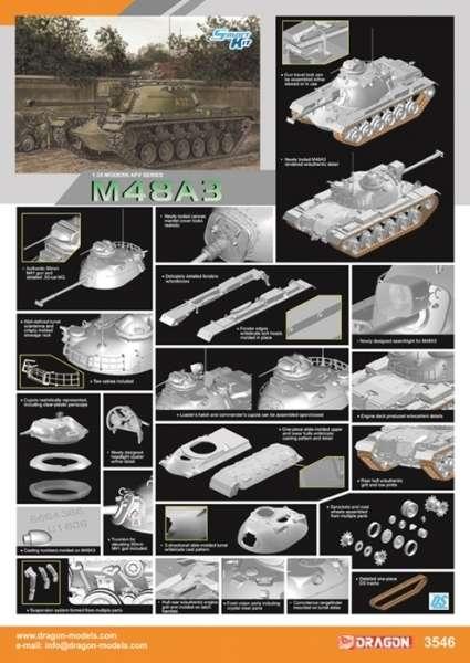 model_do_sklejania_czolgu_m48a3_dragon_3546_sklep_modelarski_modeledo_image_3-image_Dragon_3546_3