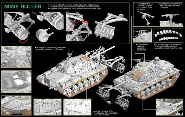 plastikowy-model-czolgu-magach-5-z-tralem-przeciwminowym-sklep-modelarski-modeledo-image_Dragon_3618_10