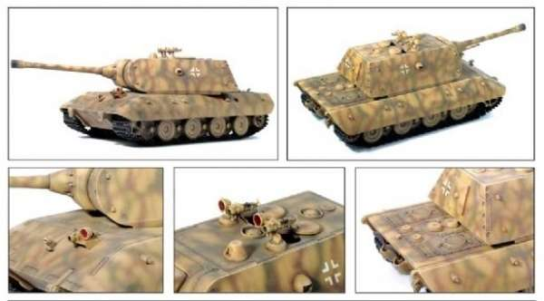 German super heavy tank E-100 in scale 1:35. Dragon 6011-image_Dragon_6011x_5