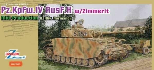 Opakowanie modelu czołgu PZIV wersja H - Dragon 6611-image_Dragon_6611_3