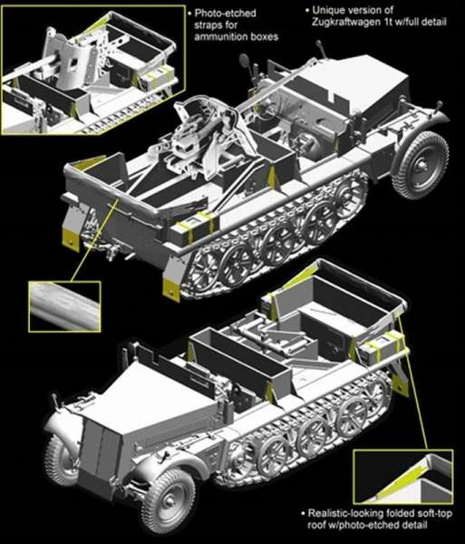 5cm PaK 38 auf Zugkrafteagen 1t model_dragon_6719_skala_1_35_image_2-image_Dragon_6719_3