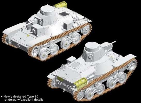 Type 95 Light Tank Ha-Go (Late Production) model_do_sklejania_dragon_6770_image_9-image_Dragon_6770_3