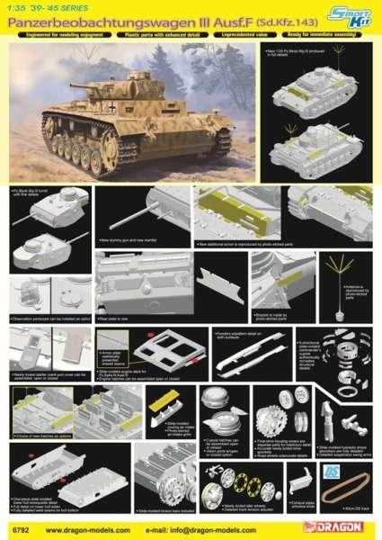 Panzerbeobachtungswagen III Ausf.F model_do_sklejania_dragon_6792_image_2-image_Dragon_6792_3