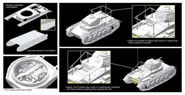 Dragon 6812 w skali 1:35 model Pz.Beob.Wg.II Ausf.C - plastikowy model do sklejania i pomalowania - image b-image_Dragon_6812_3