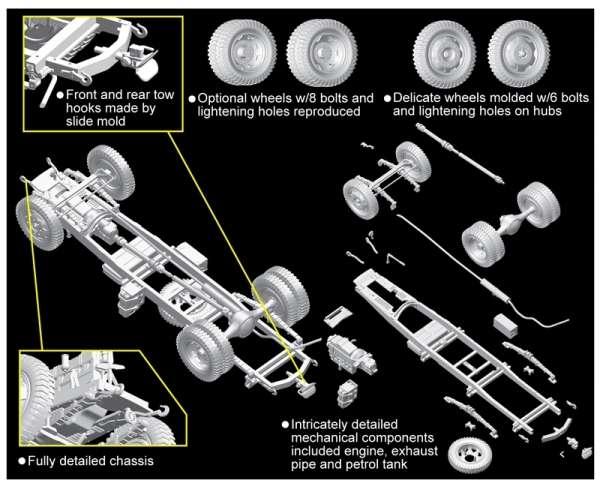 German Opel Blitz 3t 4x2 Truck w/2cm FlaK 38 model_dragon_dra6828_image_2-image_Dragon_6828_3