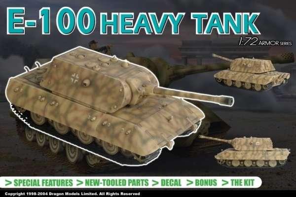 German heavy tank E100 in scale 1/72 - Dragon 7256-image_Dragon_7256_3