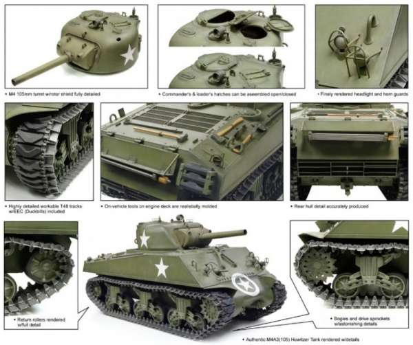 model_do_sklejania_m4a3_105_howitzer_tank_dragon_75046_sklep_modelarski_modeledo_image_2-image_Dragon_75046_3