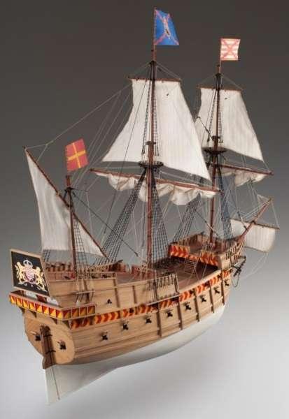 model_drewniany_do_sklejania_dusek_d018_galeon_san_martin_hobby_shop_modeledo_image_3-image_Dusek Ship Kits_D018_3
