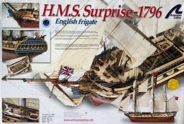 model-drewnniany-hms-surprise-do-sklejania-sklep-modelarski-modeledo-image_Artesania Latina drewniane modele statków_22910_4