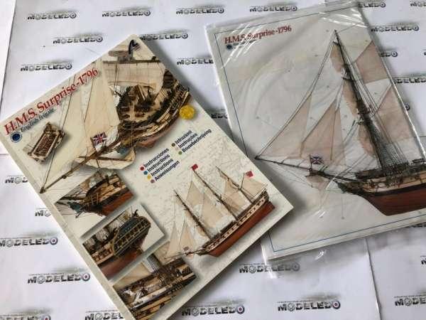 model-drewnniany-hms-surprise-do-sklejania-sklep-modelarski-modeledo-image_Artesania Latina drewniane modele statków_22910_24