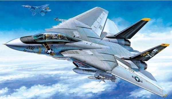 Myśliwiec Grumman F-14A Tomcat model do sklejania w skali 1:48, model Tamiya 61114_image_1-image_Tamiya_61114_2