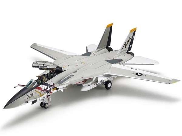 Myśliwiec Grumman F-14A Tomcat model do sklejania w skali 1:48, model Tamiya 61114_image_2-image_Tamiya_61114_3
