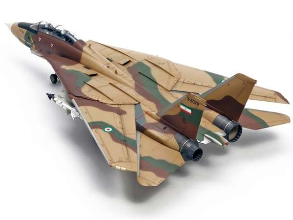 Myśliwiec Grumman F-14A Tomcat model do sklejania w skali 1:48, model Tamiya 61114_image_5-image_Tamiya_61114_3