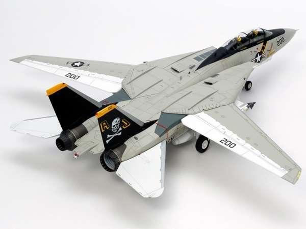 Myśliwiec Grumman F-14A Tomcat model do sklejania w skali 1:48, model Tamiya 61114_image_3-image_Tamiya_61114_3