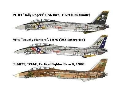 Myśliwiec Grumman F-14A Tomcat model do sklejania w skali 1:48, model Tamiya 61114_image_18-image_Tamiya_61114_4