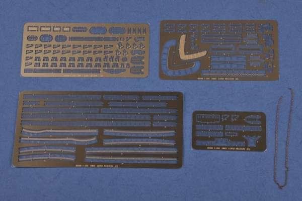 Elementy fototrawione oraz metalowy łańcuch - model Hobby Boss 86508-image_Hobby Boss_86508_3