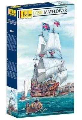 Model żaglowca Mayflower do sklejania w skali 1-150 heller_80828_image_1-image_Heller_80828_3