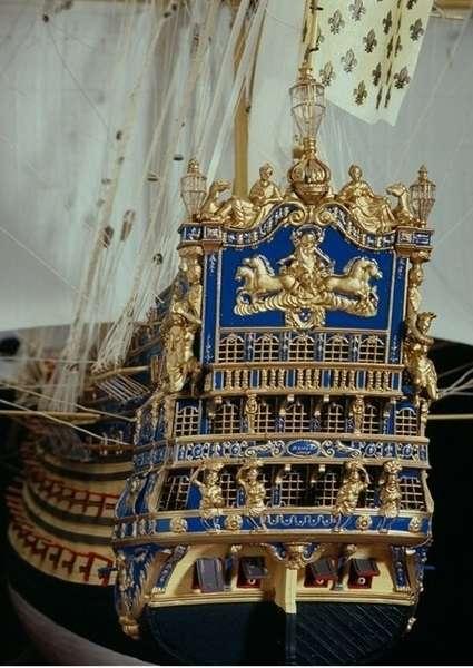 Szczegóły modelu statku Soleil Royal z firmy Heller 80899-image_Heller_80899_3
