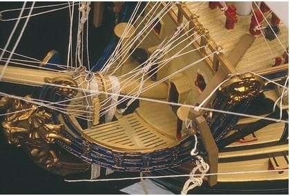 Detale sklejonego okrętu liniowego Soleil Royal-image_Heller_80899_4