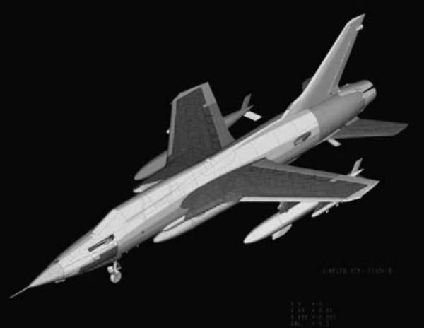 Plastikowy model Hobby Boss 80333 F-105G Thunderchief do sklejania - image_6-image_Hobby Boss_80333_3